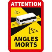 Adhésif angles morts pour bus ou autobus par mapubauto
