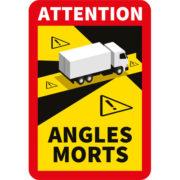 Adhésif angles morts pour camion par mapubauto