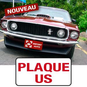 cache plaque US personnalisé mapubauto.com