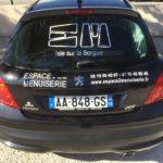 mapubauto.com fabrique vos lettres adhésives découpées pour votre véhicule de société