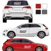 Kit adhésif véhicule de prêt par mapubauto.com