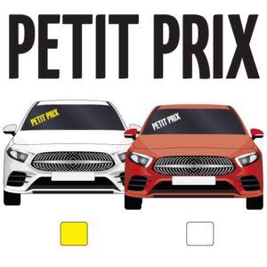 """lettres adhésives pour véhicule """"petit prix"""" par mapubauto.com"""
