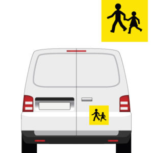 signalétique transport d'enfants par mapubauto.com