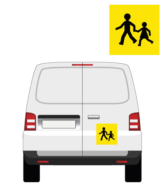 signalétique transport d'enfants par mapubauto.com